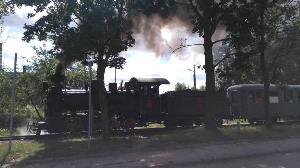 Pociąg retro do Puszczy Kampinoskiej