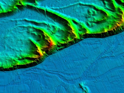 Numeryczny model terenu wydmy w Puszczy Kampinoskiej