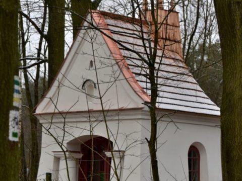 Kapliczka Leśników w Granicy